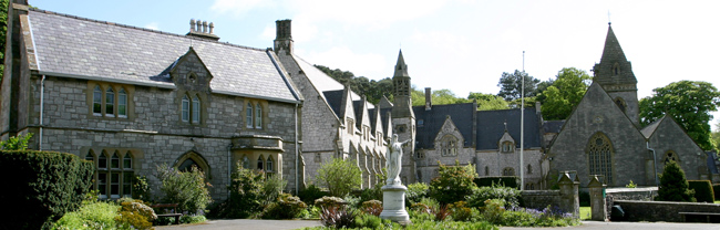 Denbigh House, Friary & St David's Church